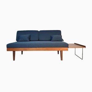 Sofá cama noruego de Ingmar Relling para Ekornes, años 60