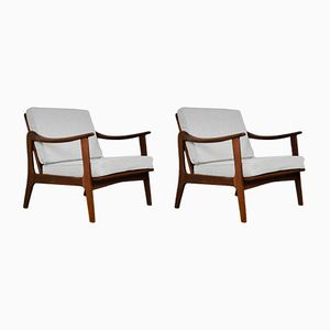 Scandinavian Lounge Chairs, 1960s, Set of 2