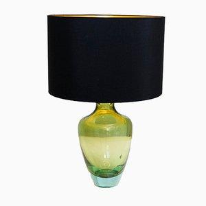 Lampada da tavolo in vetro di Murano di Seguso, anni '50