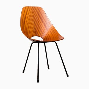 Italian Medea Rosewood Chair by Vittorio Nobili for Fratelli Tagliabue, 1950s