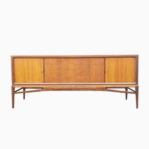 Dänisches Mid-Century Sideboard aus Mahagoni, 1950er