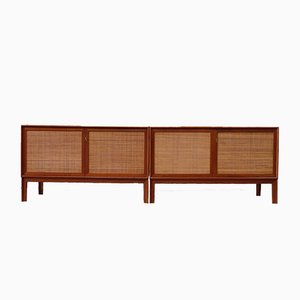 Norrland Sideboards by Alf Svensson for Bjästa Snickerifabrik, 1960s, Set of 2