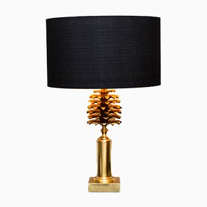 Pinecone Table Lamp from Maison Charles, 1970s