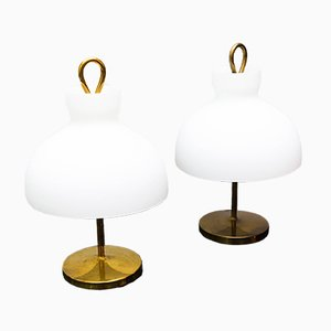 Arenzano LTA 3 Table Lamps by Ignazio Gardella for Azucena, 1950s, Set of 2