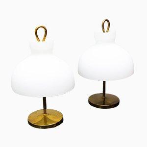 Lampade da tavolo ArTA LTA 3 di Ignazio Gardella per Azucena, anni '50, set di 2