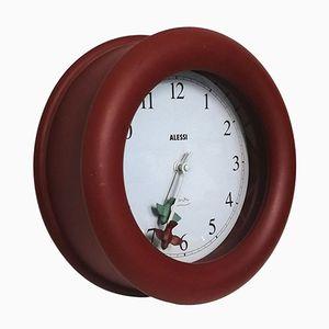 Modell Kitchen Uhr von Michael Graves für Alessi, 1980er