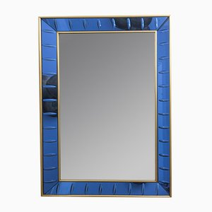 Italian Wall Mirror by Cristal Art, 1960s