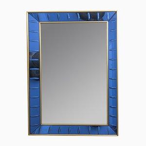 Italian Wall Mirror by Cristal Art, 1960s