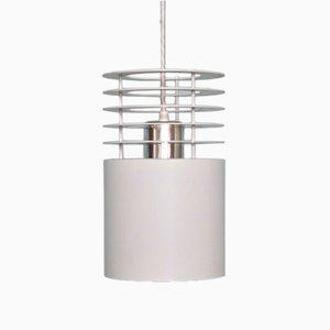 Lámpara colgante Line Hydra 1 blanca de Jo Hammerborg para Fog & Mørup, años 60
