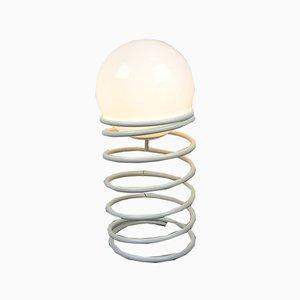 Lámpara de pie en forma de muelle, años 70