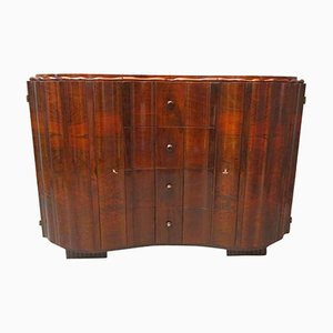Art Deco Austrian Walnut Sideboard, 1920s
