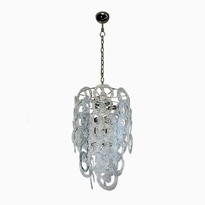 Lámpara de araña de cristal de Murano de Vistosi, 1973