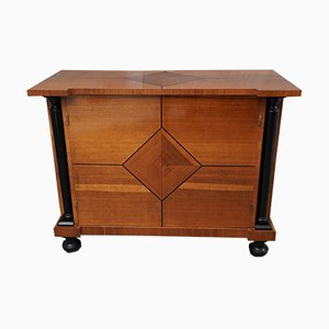Mueble austriaco Art Déco de madera de peral, años 30