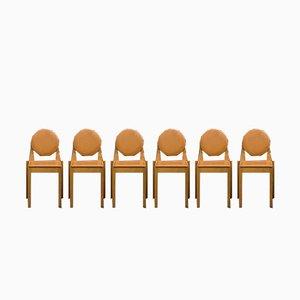Sedie in faggio di Philippe Hurel, anni '80, set di 6