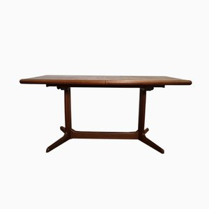 Danish Teak Dining Table with 2 Extensions from Skovby, 1960s