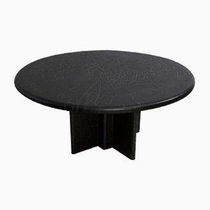 Table Basse Brutaliste Vintage