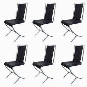 Sedie di Pierre Cardin per Maison Jansen, anni '70, set di 6