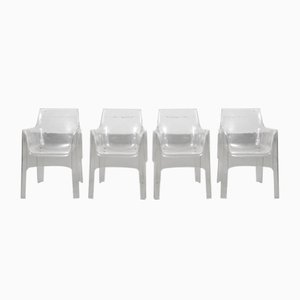 Kiss Me Goodbye Garden Chairs by Tokujin Yoshioka for Driade, 2000s, Set of 4