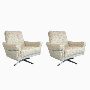 Dutch Swivel Chairs, 1970s, Set of 2