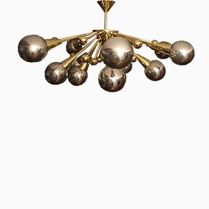 Murano Glass Sputnik Chandelier, 1970s
