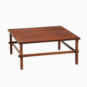 Vintage Rosewood Gio Coffee Table by Gianfranco Frattini for Cassina