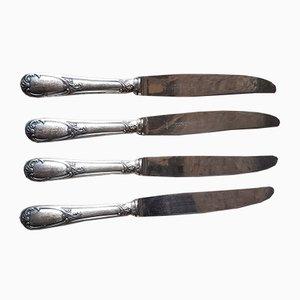 Versilberte Messer von Reneka Strasbourg, 1940er, 12er Set