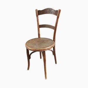 Sedia antica in legno curvato di Thonet