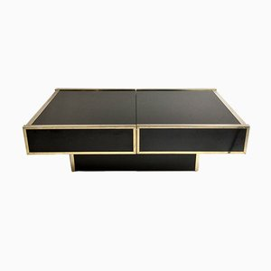 Open Bar Coffee Table from Maison Lancel, 1970s