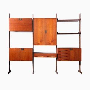 Libreria modulare di Edmondo Palutari per Dassi, anni '50