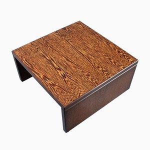 Table Basse Moderniste en Wengé par Martin Visser pour 't Spectrum, 1960s