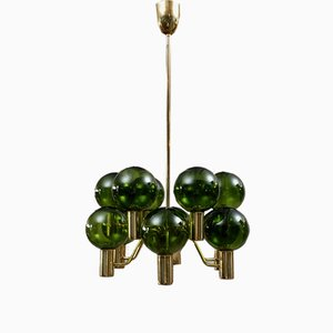 T372/12 Patricia Chandelier by Hans-Agne Jakobsson for Markaryd, 1960s