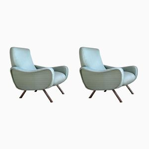 Italian Armchairs by Pizzetti, 1960s, Set of 2