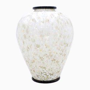Vase Vintage en Verre de Murano par Alain Delon