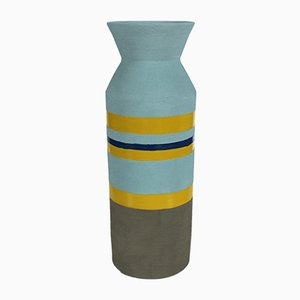 Vaso nr. 9 in terracotta di Mascia Meccani per Meccani Design, 2019