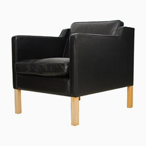 Danish Club Chair by Børge Mogensen for Stouby, 1970s