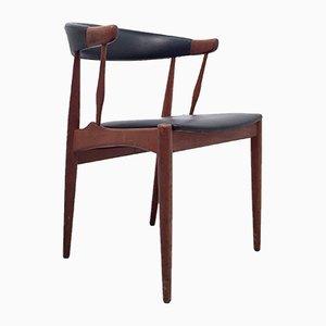 Modell BA113 Armlehnstuhl aus Teak von Johannes Andersen für Andersen Møbelfabrik, 1960er