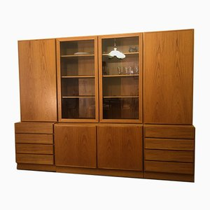 Large Vintage Danish Wall Unit, 1970s