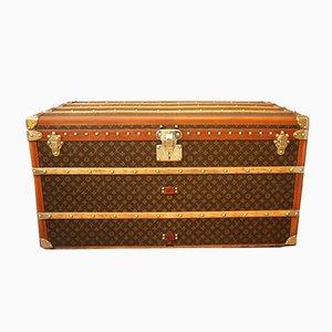 Kiste mit Monogramm von Louis Vuitton, 1930er