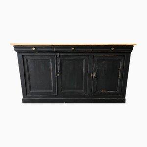 Antikes industrielles Sideboard mit 3 Türen