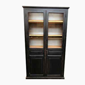 Vintage Industrial Bookcase Cabinet