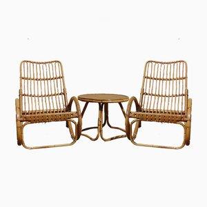 Bamboo Garden Set, 1970s