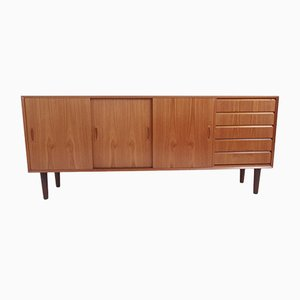 Low Teak Sideboard, 1969