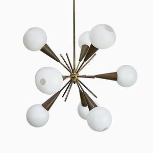 Italian Sputnik Chandelier from Stillovo, 1950s
