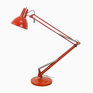 Lampe d'Architecte Rouge de Fase, 1960s