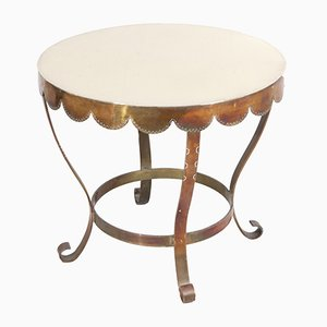 Mid-Century Brass Table, 1950s