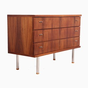 Mid-Century Rosewood Chest of Drawers