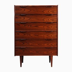 Rosewood Chest of Drawers from Fredericia, 1960s
