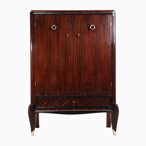 Art Deco Macassar Ebony Cabinet, 1930s