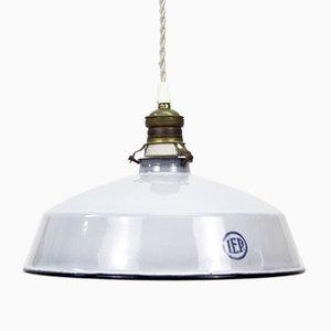 Spanische Industrielle Vintage Deckenlampe von IEP Iluminación, 1950er