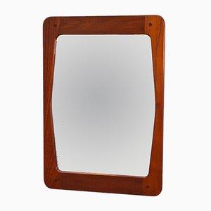 Dänischer Spiegel mit Rahmen aus Teak, 1960er